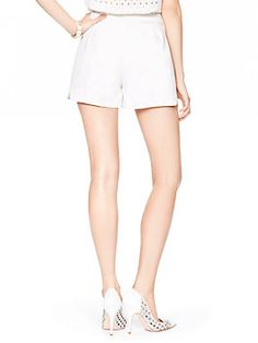cotton twill short by kate spade new york