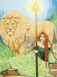 The Art | ravynnephelan Celtic Mythology, Celtic Goddess, Goddess Art, Oracle Book, Michele Lee, Book Of Kells, Triple Goddess, Gods And Goddesses, Linocut Prints