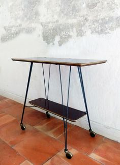 1000 images about objet meuble vintage by ld on - Petite table a roulette ...