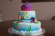 ariel birthday cake   Little Mermaid cake — Children's Birthday Cakes