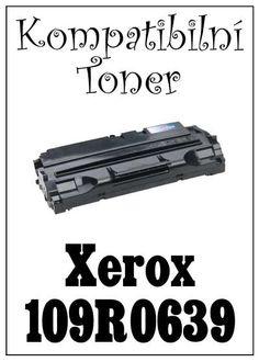 Kompatibilní toner Xerox 109R0639 za bezva cenu 1149 Kč