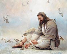 Jesus Art, Jesus Christ, Savior, Canvas Art, Canvas Prints, Art Prints, Greg Olsen Art, Sparrow Art, Pictures Of Christ