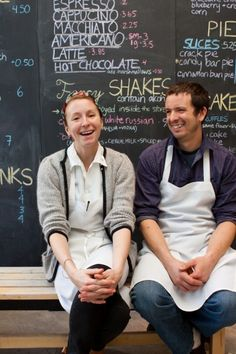 pastry chef christina tosi and farmer dante hesse, photographed by vicky wasik for edible manhattan