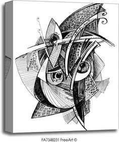 Free art print of Abstract unusual pencil drawing. Get up to 10 Gallery-Quality Art Prints for Free. Pencil Drawing Images, Abstract Pencil Drawings, Abstract Sketches, Pencil Drawing Tutorials, Art Sketches, Drawing Ideas, Abstract Canvas, Realistic Drawings, Cool Drawings