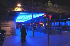 Gunda Forster - Blue, hommage au bleu d'Yves Klein - Nice (France) - 2010