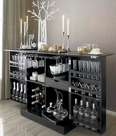 Interior Decorating Plans for your Home Bar Bar Interior, Interior Decorating, Small Bars For Home, Home Bar Cabinet, Armoire Bar, Home Bar Sets, Modern Home Bar, Home Bar Decor, Home Bar Designs
