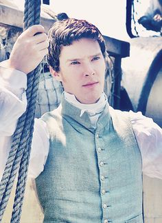 "Benedict Cumberbatch in the 2006's movie ""To the Ends of the Earth"" -- he was a jerk in that movie, but what a lovable jerk :-)"