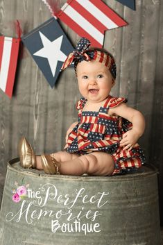of july baby pictures boy Ideas 4th Of July Photography, Baby Girl Photography, Photography Ideas, Summer Photography, 4th Of July Pics, July 4th, Oreo, 4th Of July Dresses, July Baby
