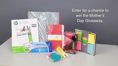 Enter for a chance to win this awesome Mother's day Bundle http://blog.shoplet.com/office-supplies/mothers-day-giveaway-video-blitz-429/