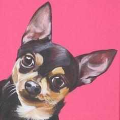 Jonny, acrylic on canvas, cm 20X20.