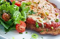 Real Chicken Parmesan. Venice Nutrition - Building Your Body Confidence