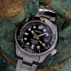 Seiko MarineMaster 300 dive watch.