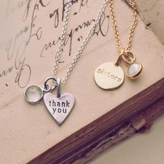The best way to remember that new mantra? Wear it around your neck. #Necklace