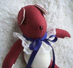 Julia the Little Teddy Bear by ellemardesigns on Etsy, $10.00