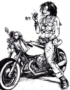 Jet Girl, Tank Girl's best friend and often Tank's voice of reason.