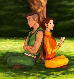 Older Kai and Jinora I love this!!