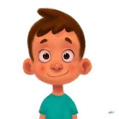 Quick doodle between works   #kid #children #boy #blue #illustration #characterdesign #character #design #conceptart #concept #art #digital #digitalart #animation #gouache #wacom #cintiq #photoshop #drawing #sketch #painting #instaart #instaartist #artist #artistsoninstagram