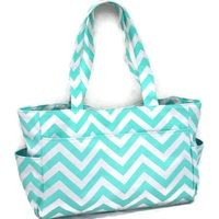 Chevron nappy bag or diaper bag