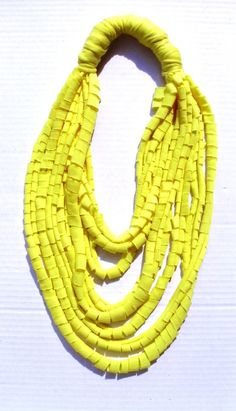 A variation on t-shirt scarf.