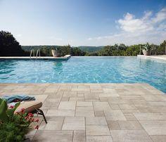 Rialto - A durable architectural slab with a subtle texture, and warm, neutral colour palette.