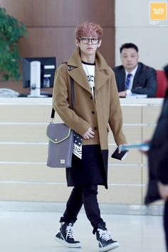 V - airport fashion. Adorable