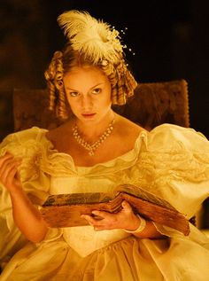 Christina Cole as Blanche Ingram in Jane Eyre (TV Mini-Series, 2006). - 1830s styles