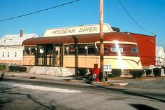 modern diner. pawtucket, ri. as seen on diner paradise.