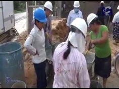 Mujeres en la construcción de Salones del Reino - Reportaje Canal Dos TV...