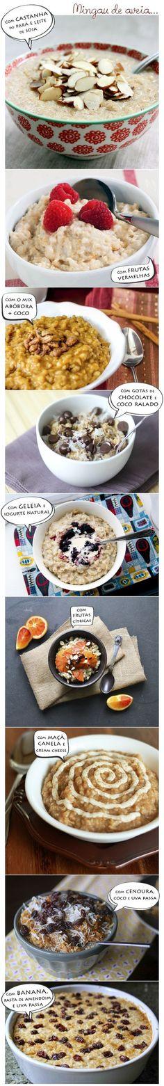 Se você gosta de mingau de aveia, pode variar na receita: | 15 receitas que vão te fazer querer que todas as refeições sejam o café da manhã
