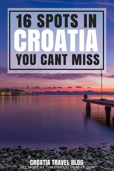 Croatia is a relatively small country but take it from us, it's diverse and there is so much more to see beyond the well-trodden paths of Dubrovnik and seaside city of Split. For those of you thinking about where to go in Croatia in 2016 here are 16 places to visit for 2016 beyond Croatia's major attractions. For more things to do in Croatia, click here...