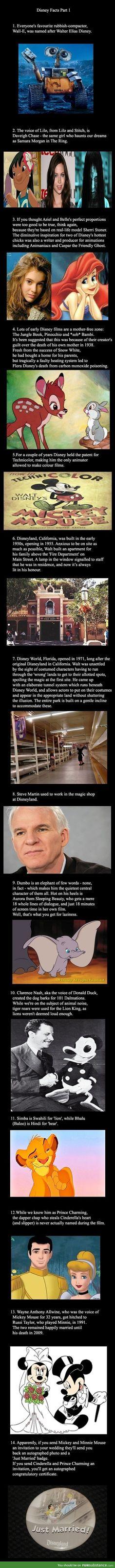 Disney fact comp - FunSubstance.com