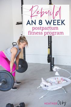 An 8 week at home postpartum fitness program by postpartum fitness expert Heather Osby. This fitness plan will give you everything you need to return to exercise and the workouts you love postpartum while keeping you safe. Postpartum workout plan. #postpartumfitnessplan Post Baby Workout, Post Pregnancy Workout, Pregnancy Tips, Fit Board Workouts, At Home Workouts, Core Workouts, Fitness Expert, Fitness Plan, Postpartum Workout Plan