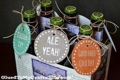 Get the man who has it all a six pack for his birthday and snaz it up with this FREE Birthday Beer GIft Tag Printable Birthday Beer, Free Birthday, Birthday Gifts, Birthday Cards, Beer Christmas Gifts, Christmas Tag, Baskets For Men, Beer Store, Free Printable Gift Tags
