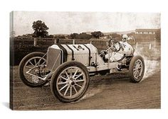 Classic Vintage Race Car