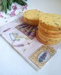 Citromos-levendulás keksz | SÜTIZŐ Cookie Recipes, Cakes, Drink, Food, Recipes For Biscuits, Beverage, Cake Makers, Biscuits, Kuchen