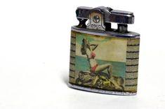 A vintage lighter