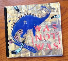 Was Not Was Blank Book Handmade blank journal by outpostrecordshop