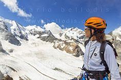 130827  Enjoying the Morteratsch Glacier