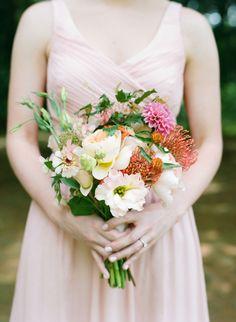 Whimsical colorful wedding