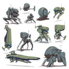 오늘 모아 본 자료는 바로 로봇 메카닉이다. 게임에서도 많은 매니아 층을 형성하고 있는 로봇 메...