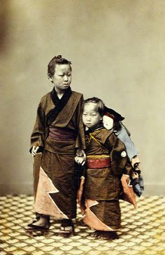 Sisters, ca. 1860s by Felice Beato