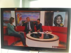 Katherine on BBC Breakfast on Saturday 3rd August, one year on to the day since winning gold at the London Olympics