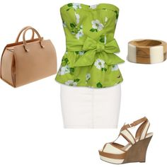 Lime, created by alana2187 on Polyvore