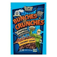 Bakery on Main Bunches of Crunches Coconut Cacao Granola (6x11 OZ) G240-ECV1801992