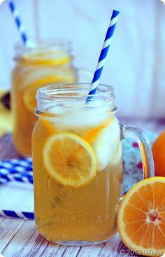 Meyer Lemon & Jasmine Iced Tea
