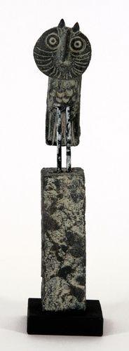 Owl & Pillar by John Maltby
