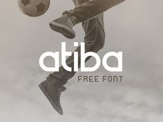 Atiba is a free font from Ozan Karakoc that features perfect geometric curves and straight lines that create a sportive and athletic look. Free for personal & commercial use Included: Atiba TTF… Free Cursive Fonts, Free Typeface, Font Free, Vintage Typography, Typography Fonts, Vintage Logos, Hand Lettering, Athletic Fonts, Font Combos