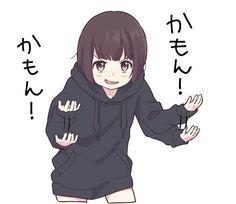 kayako-chan Kawaii Chan, Loli Kawaii, Kawaii Anime Girl, Anime Art Girl, Anime Furry, Sad Anime, Anime Chibi, Neko Girl, Manga Girl