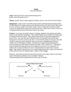 chains guided reading lesson plan guided reading lesson plans rh pinterest com Chains by Laurie Halse Anderson Ruth Laurie Halse Anderson Chains Sequel