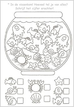 Crafts,Actvities and Worksheets for Preschool,Toddler and Kindergarten.Lots of worksheets and coloring pages. Preschool Worksheets, Preschool Learning, Kindergarten Math, Preschool Activities, Counting Worksheet, Teaching, Color Activities For Toddlers, Preschool Apple Theme, Preschool Colors